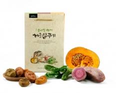우리밀 야채 하회탈 쿠키 15개 세트